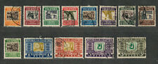 Colombia Sc#c96-c110 Used/VF, Complete Set, Cv. $38.10