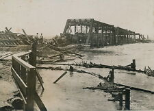 DAYTON c. 1910 - Inondations Pont Train Détruit USA - 64