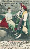 Ansichtskarte Hessische Volkstrachten 1906  (Nr.956) -III