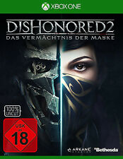 Xbox One Dishonored 2 Das Vermächtnis der Maske Day One Xbox One Neu