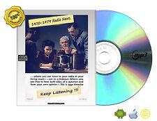 1970-1979 Radio News Collection Cold War, AFVN, Energy Crisis, Vietnam War Mp3CD