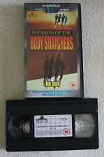 INVASION OF THE BODY SNATCHERS Philip Kaufman UK VHS PAL Beyond Vision