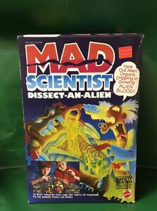 "1986 MAD SCIENTIST:""DISSECT-AN-ALIEN"" NIB BY MATTEL"