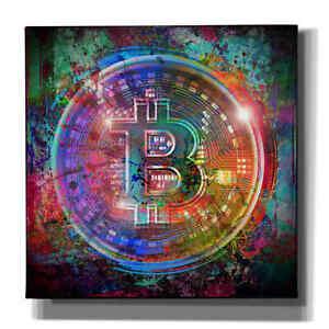 "Epic Graffiti ""Bitcoin Wallet"" Giclee Canvas Wall Art"