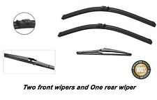 """Mazda 3 2003-2008 Brand New Front and Rear windscreen wiper blades 21""""19""""14"""""""