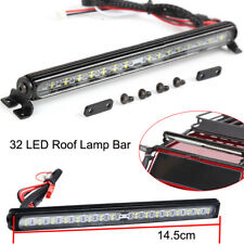 32 LED Metal Roof Lamp Light Bar For TRX-4 SCX10 90046 1/10 RC Crawlers Car