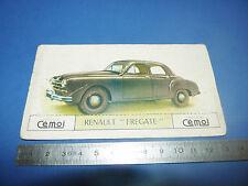 CHROMO 1950-1959 CHOCOLAT CEMOI DECOUPAGE AUTOMOBILE AUTO RENAULT FREGATE