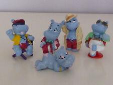 Ü-Ei Happy Hippos 5 verschiedene Figuren
