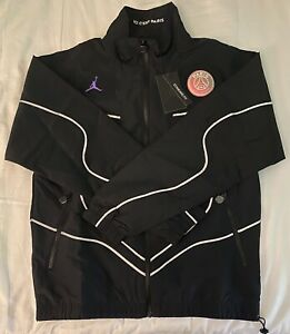 Nike Jordan Paris Soccer Football Windbreaker Jacket CZ0786 010. Adult Size: S