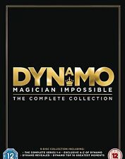 Dynamo Complete Series 1-4 Dvd Box Set Magician Impossible 1 2 3 4 Collection