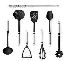 BRABANTIA Kit d'accessoires pour la cuisine avec rail mural 8 pièces louche