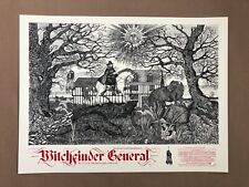 Witchfinder General Variant Screen Print by Sin Eater - NT Mondo