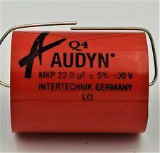 22uF 400V 5% AUDYN CAP Q4 MKP CONDENSATORI POLIPROPILENE CROSSOVER AUDIO