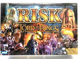 Risk: The Lord of The Rings Trilogy Edition 2003 Board Game Complete