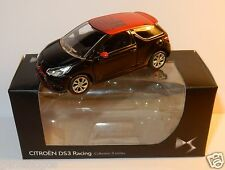 NOREV 3 INCHES 1/54 CITROEN DS3 RACING 2013 BICOLORE ORANGE NOIRE IN BOX