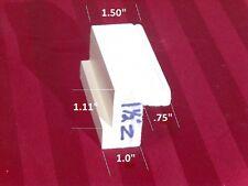 "plantation shutter materials 1-1/2"" Z frame primed basswood 75"" (1 PC)"