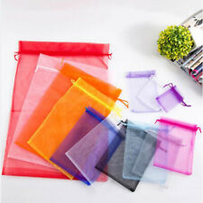 Organza Jewellery Packing Bag Pouches Candy Gift Wedding Party Favour Bags 5/10X