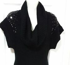 AX Armani Exchange Black Sweater Dress  Size S WC482