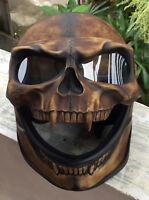 Motorcycle Helmet Skull Skeleton MONSTER Ghost Visor Shield Full Face 3D Novelty