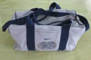 Vintage EPYX World Games Promotional Canvas Duffle BAG Technology Gamer Tech