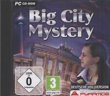 Big City Mystery  ( PC, 2009, Jewelcase)   deutsche Vollversion