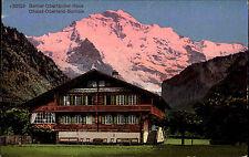 Berner Oberland Haus Schweiz Bern Postkarte ~1910 Chalet Bernois ungelaufen