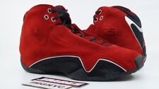 ee86d27a37b AIR JORDAN 21 XXI USED SIZE 9 RED SUEDE VARSITY RED SILVER BLACK 313495 602