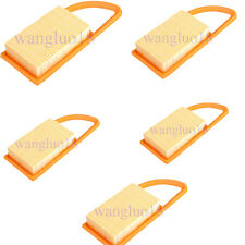 5 PACK AIR FILTER for STIHL BR600 BR550 BR500 BACKPACK BLOWER