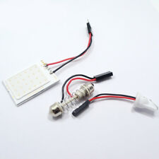 Panel Led coche 24 SMD COB T10 + festoon 12V Rojo