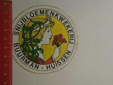Aufkleber/Sticker: Snijbloemenkwekerij Buurman Huissen (06011799)