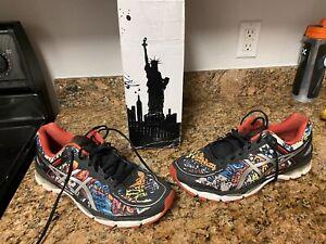 Asics Gel Kayano 22 New York NYC Marathon Freedom Men's Running Shoes 12