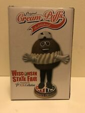 3,000 Made! Wisconsin State Fair Cream Puff Bobblehead Collectibles