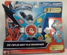 Power Rangers Ninja Steel Limited Edition Color DX Battle Morpher Blue & Silver