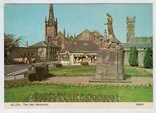 THE WAR MEMORIAL, ALLOA: Clackmannanshire postcard (C23997)