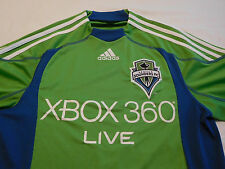 Seattle Sounders XBOX 360 Live Jersey Shirt Adidas Climacool S Small