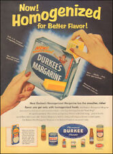 1955 Vintage ad for Durkee Famous Foods Margarine retro    (040518)