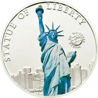 Palau 5 Dollars 2010 Statue of Liberty Silver coin