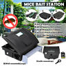 Roshield Rat Mouse Mice Killer Poison Block Rodent Bait Station Box Pest Trap
