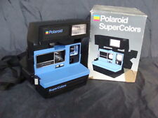POLAROID SUPERCOLOR 600 MACCHINA FOTOGRAFICA CAMERA APPAREIL PHOTO BOX OLD