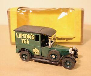 Matchbox Models of Yesteryear  Y-5 1927 Talbot Van Lipton's Tea Mint & Boxed.