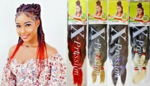 XPRESSION LAGOS BRAID Pre-Pulled Hair Extension(42″ & 46″)Pack Various Colours