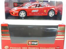 BURAGO 3378 FERRARI 360 Modena Challenge 1/18 MIB NUOVO NOS OVP SG 1407-24-06