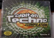 CAPITAN TECHNO - 2 MUSICASSETTE MC SIGILLATO ITALY (SEALED)
