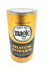 SoftSheen-Carson Magic Fragrant Shaving Powder 4.5 oz FREE SHIPPING 127G