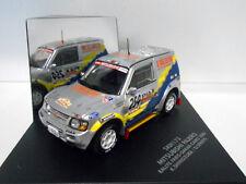 Skid 1/43 Mitsubishi Pajero #254 Paris-Dakar 2000