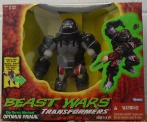 Transformers Beast Wars Optimus Primal Gorilla Heroic Maximal Robot Ultra SEALED