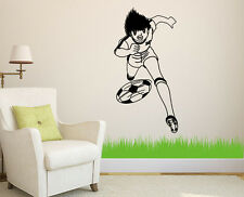 Japanese anime Captain Tsubasa Tsubasa Ozora Sticker for Home Wall Decor Window