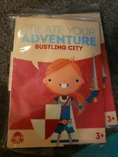 Wendy's Kids Meal Toy Book Create Your Adventure BUSTLING CITY