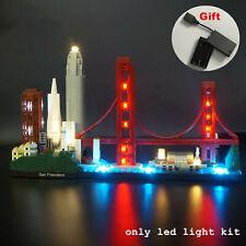 LED Light for LEGO 21043 Architecture San Francisco lighting