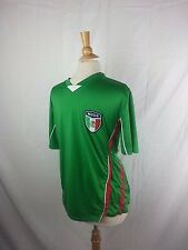 Mexico S/S V-neck Soccer Jersey L Large Green White Red